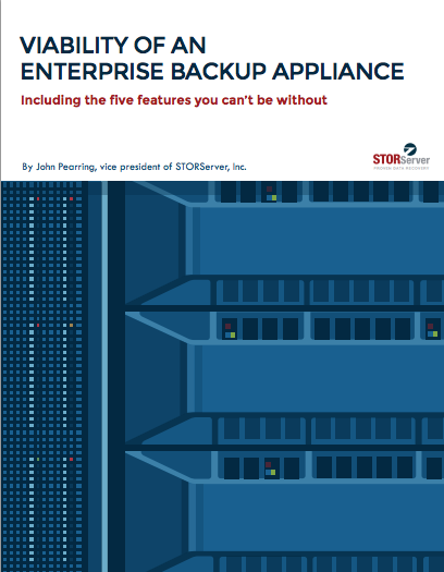 Viability of an Enterprise Backup Appliance