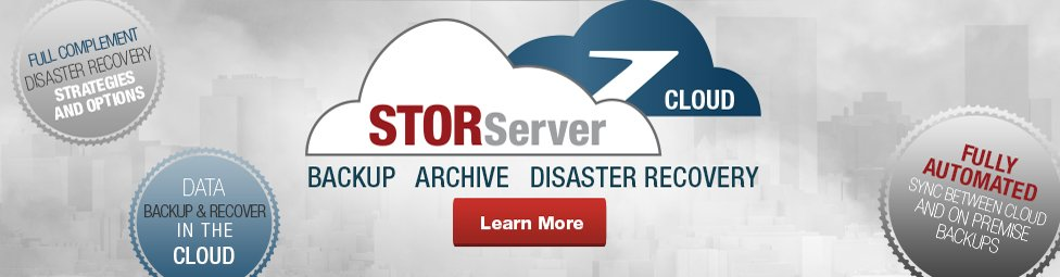 STORServer Cloud - Backup, Archive, Disaster Recovery