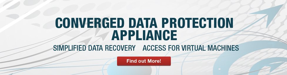 STORServer converged data protection appliance